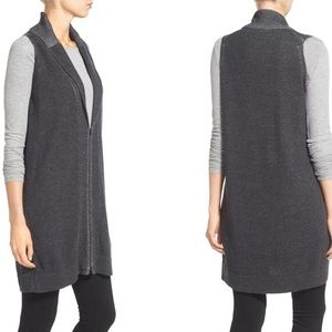 Eileen Fisher organic cotton Long Vest Tunic